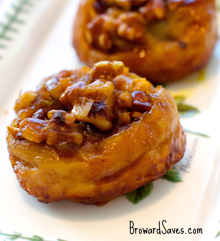 To make your Pumpkin Walnut Sticky Buns Recipe you will need: